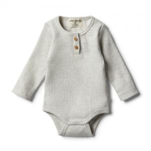 Wilson&Frenchy – Organic Cloud Grey Bodysuit