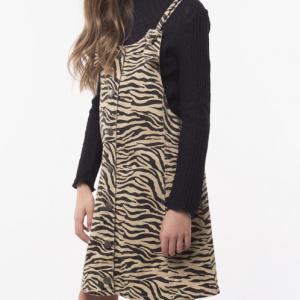 EVE GIRL – Zebra Pinafore