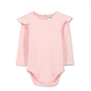 Milky – Rib Bubbysuit Pastel Pink