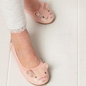 WALNUT – Catie Bunny Ballet Flat