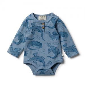 Wilson&Frenchy – Organic Little Dragon Bodysuit