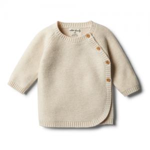 Wilson&Frenchy – Oatmeal Knitted Kimono Cardigan