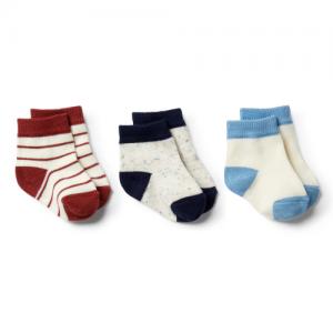 Wilson&Frenchy – Faded Denim, Chilli, Twilight Blue 3 pack Baby Sock
