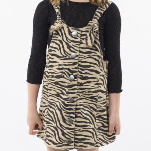 Eve's Sister – Zebra Pinafore