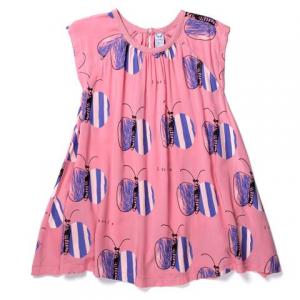 Little Horn – Lovely Butterfly Woven Dress