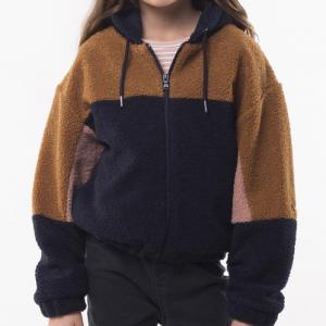 EVE GIRL – Teddy Panel Jacket