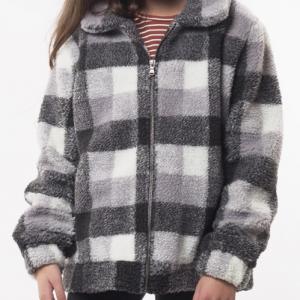 EVE GIRL – Charlie Check Jacket