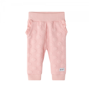 Cracked Soda – Embossed Fleecy Trackpants (Baby Girls)