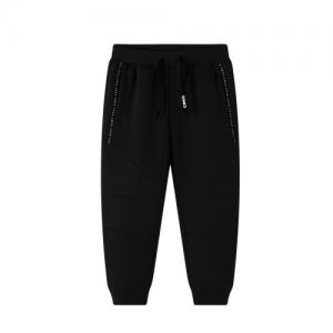CRACKED SODA – Dex Track Pants Black (Tween Boys)