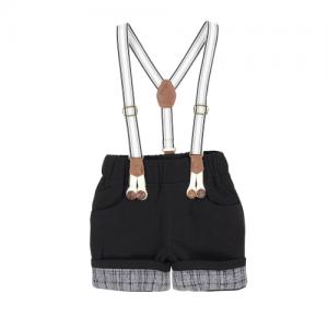 Arthur Ave – Black Braces Shorts