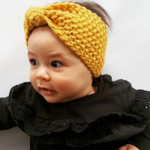 CMC GOLD – Woollen Headband – Mustard