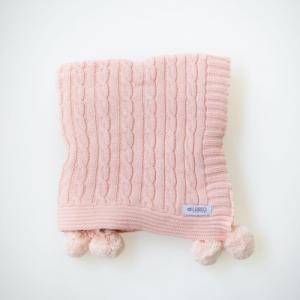 Di Lussio – Sasha Baby Blanket – Pink