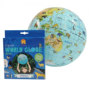 TIGER TRIBE – World Globe – Animal 30cm
