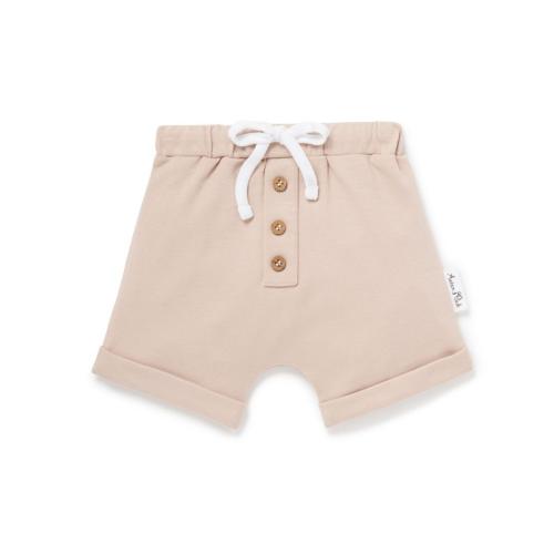 Aster & Oak – Rose Dust Button Shorts