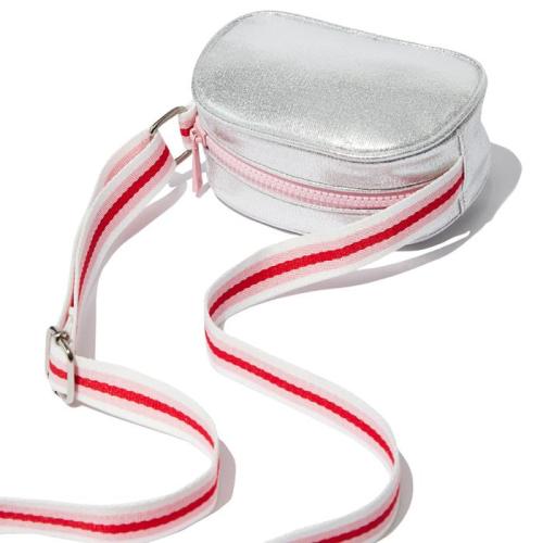 Milky – Silver Sling Bag
