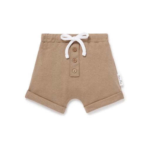 Aster & Oak – Clay Button Shorts
