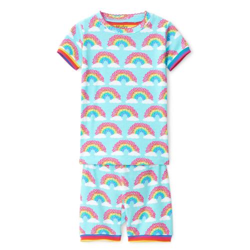 Hatley – Magical Rainbows Organic Cotton Short Pajama Set
