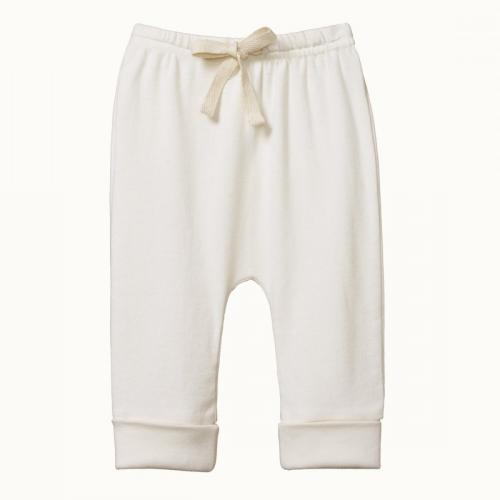 Nature baby – Cotton Drawstring Pants – Natural
